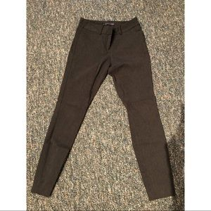 Gray Stretch Dress Pants Size 0 The Limited